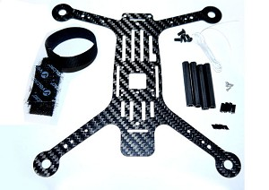 Phoenix Flight Gear Carbon Fiber 200QX HD Mini-H Frame