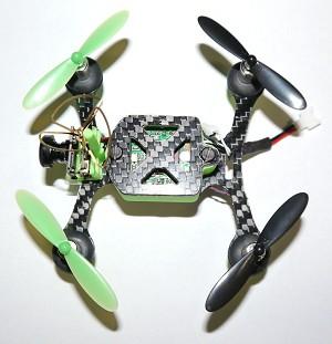 Phoenix Flight Gear Custom Built 95mm Micro-H 7mm Motor Scisky Copter Bind-n-Fly