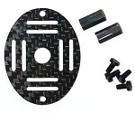 Phoenix Flight Gear 130mm Carbon Fiber MICRO-H FPV HEX Top Plate