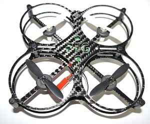 Phoenix Flight Gear Custom Built 90mm Micro-X Enclosed Prop 8.5mm Motor Scisky Copter Bind-n-Fly