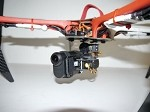 PhantoMounts Belt Drive Sony Action Cam Gimbal for the DJI F450 Flame Wheel