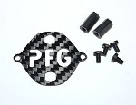 Top Accessory Plate For Phoenix Flight Gear X90PG 90mm Carbon Fiber Micro-X Frame w/Built-In Prop Guards