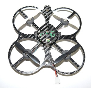 Phoenix Flight Gear Custom Built 110mm Micro-X w/Prop Guards 7mm Motor Nano Copter Bind-n-Fly